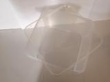 Kunststoffdose Braplast Dose 3 l flach klar