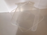 Kunststoffdose Braplast Dose 5,8 L klar